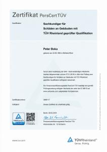 2018 - Sachkundiger für Immobilienbewertung mit TÜV Rheinland geprüfter Qualifikation